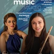 Music in the Studio – Jade Bultitude & Amira Fouad