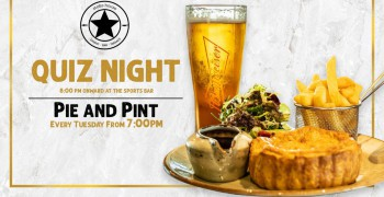Stoke House Quiz Night w/ Pie & Pint