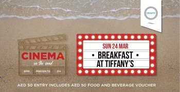 Cinema On The Sand presents Breakfast at Tiffany's