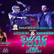 Insurancemarket.ae presents Swag Tour 2018 Vishal & Shekhar