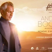 PaRus 2021: Andrea Bocelli – Believe World Tour in Dubai