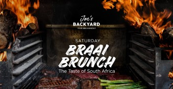 Joe's Backyard Saturday Braai Brunch