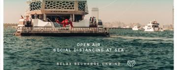 Mega Yacht Sunset Cruise Summer 2020