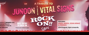 A Tribute to Junoon and Vital Signs featuring Adeel Mirza, Sean Arnaz & Friends