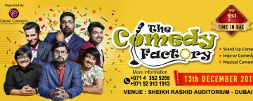 The Comedy Factory - Dubai Show