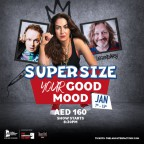 The Laughter Factory's 'Supersize Your Good Mood!' Tour Jan 2021
