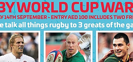 Rugby World Cup 2019 Q&A w/ Peter Stringer, Lewis Moody & Thinus Delport