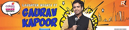 Colors Live Laughter Nights ft Gaurav Kapoor