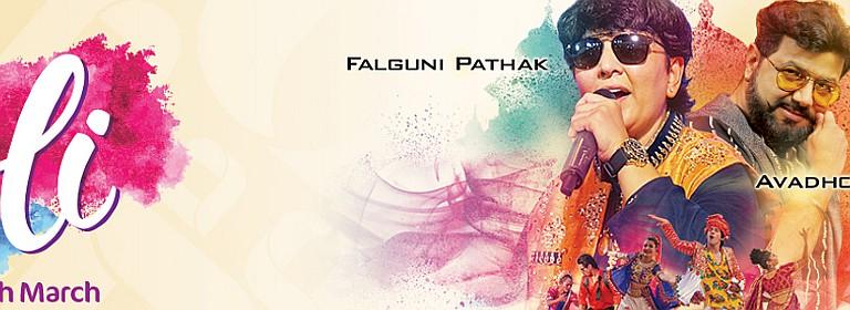 BOLLYWOOD PARKS™ Dubai presents Holi 2019 w/ Falguni Pathak & Avadhoot Gupte
