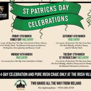 The Irish Village Garhoud St. Patrick's Day Celebrations 2020