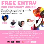 The Laughter Factory: International Women's Day Special feat. Eleanor Tiernan, Marlon Davies & Michael Fabbri - Abu Dhabi
