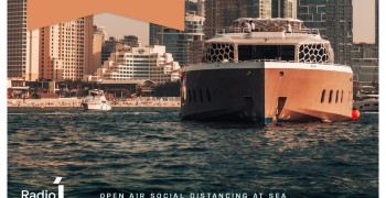 Lotus Mega Yacht DXSEA Friday Party Brunch 2020