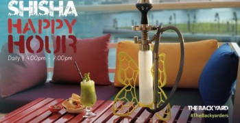 The Backyard Shisha Happy Hour