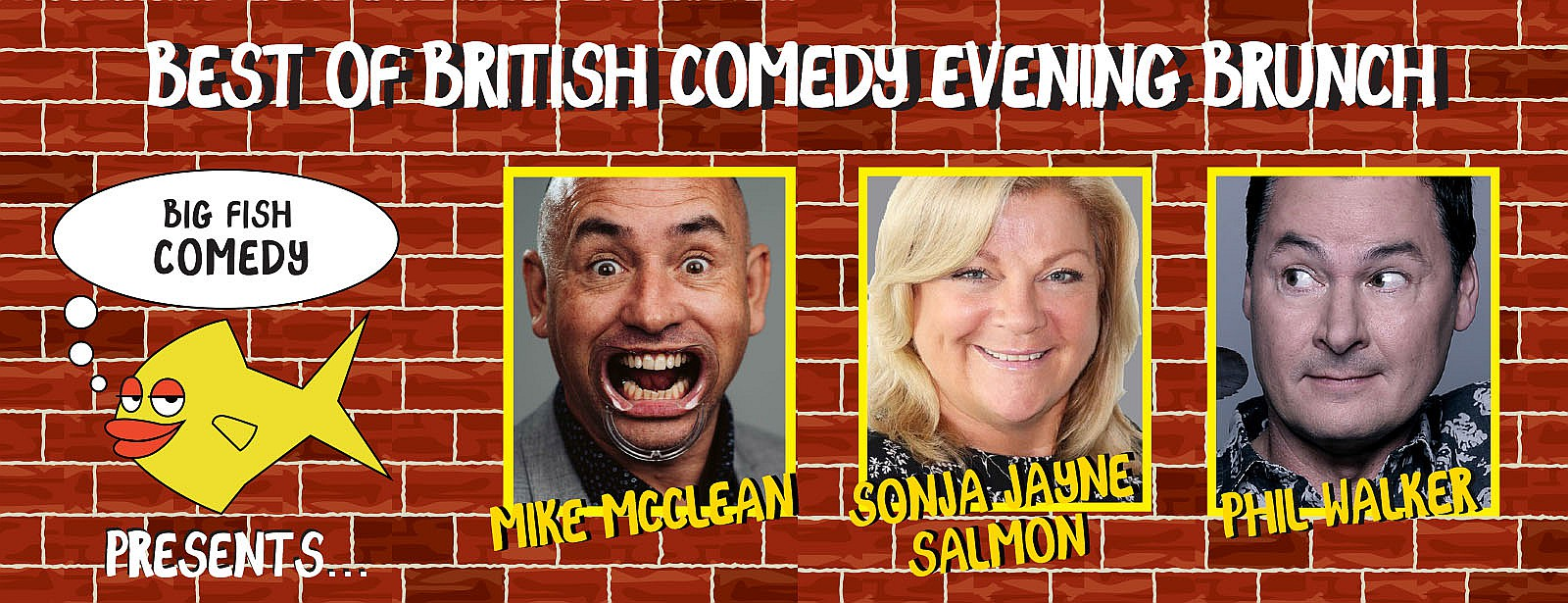 Best of British Comedy Evening Brunch