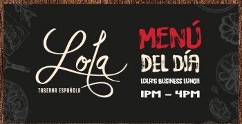 Lola Menu Del Dia Business Lunch