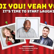 The Laughter Factory 'Oi You! Yeah You!' w/  Louis Ramey, Adam Rowe & Jojo Sutherland - May 2018