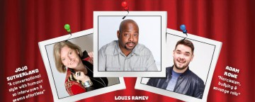 The Laughter Factory 'Oi You! Yeah You!' w/ Louis Ramey, Adam Rowe &Jojo Sutherland - May 2018