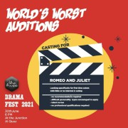 The Hive Theatre 2021: World's Worst Audition & Appropriate Audience Behavior