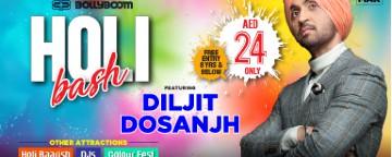 Bollyboom Holi Bash 2020 with Diljit Dosanjh