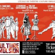 Culture Emulsion presents Les Cancans