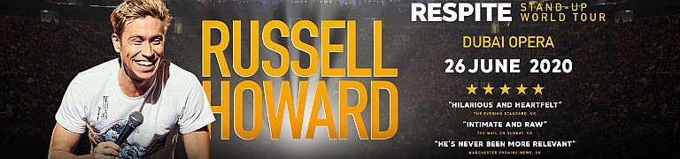 Russell Howard Respite Stand-Up World Tour