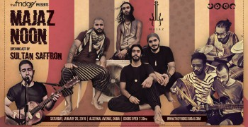 The Fridge Concert Series Season 28: Majaz & Noon supported by Sultan Saffron