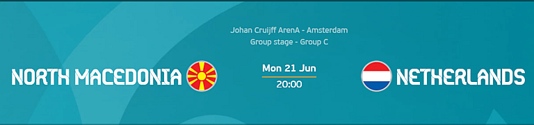 Euro 2020: North Macedonia vs Netherlands