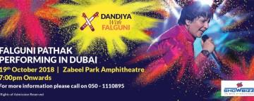 Dandiya with Falguni Pathak Live in Dubai