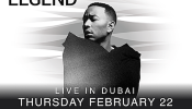 Emirates Airline Dubai Jazz Festival 2018 presents John Legend & China Moses - Day 2