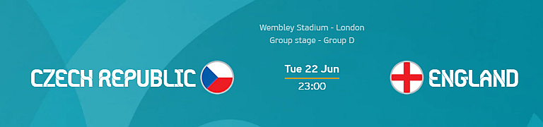 Euro 2020: Czech Republic vs England