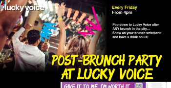 Lucky Voice Post-Brunch Party