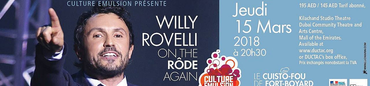 Willy Rovelli: On the Rôde Again