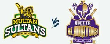 PSL 2018: Multan Sultans v Quetta Gladiators - 7 Mar