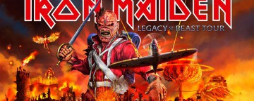 Iron Maiden Legacy of the Beast Tour Live in Dubai - CANCELLED