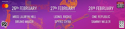 Mastercard Presents The Emirates Airline Dubai Jazz Festival 2020 w/ Ms. Lauryn Hill, Lionel Richie & OneRepublic