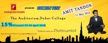 FacingLites Events presents Comedy Fest: Amit Tandon Live in Dubai