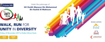 The Emirates NBD Unity Run Dubai 2017