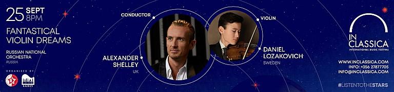 InClassica International Music Festival:Fantastical Violin Dreams