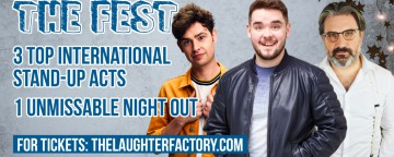 The Laughter Factory's 'Best of the Fest' Tour' - Abu Dhabi