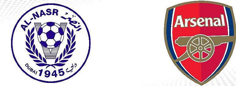 Al-Nasr Dubai SC v Arsenal