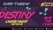 Zero Gravity: Destiny Ladies' Night