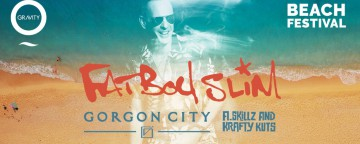 Zero Gravity Beach Festival w/ Fatboy Slim, Gorgon City, A. SkillZ & Krafty Kuts and more